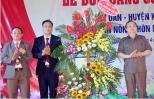 Xã Tân Dân đón Bằng công nhận đạt chuẩn nông thôn mới