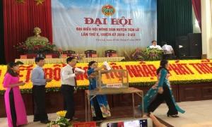 Đại hội đại biểu Hội Nông dân huyện Tiên Lữ lần thứ X, nhiệm kỳ 2018 - 2023.