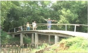Người nông dân với cây cầu tình nghĩa