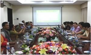 Phó Chủ tịch Hội NDVN Nguyễn Duy Lượng tiếp và làm việc với Chương trình Hỗ trợ Rừng và Trang trại (FFF) Nê - Pan