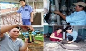 Những cử nhân, thạc sỹ bỏ bằng cấp, về quê…làm nông