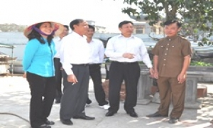 Phó Chủ tịch UBND tỉnh Đặng Minh Ngọc kiểm tra sản xuất nông nghiệp