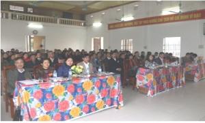 Đại hội đại biểu Hội Nông dân xã Tiền Phong lần thứ 28 nhiệm kỳ 2018 - 2023.