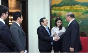 Hội Nông dân Việt Nam – Viện Nghiên cứu Đông Á: Hợp tác phát triển nền nông nghiệp hiện đại