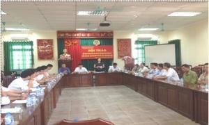 Hưng Yên: Hội thảo đối thoại với các bên liên quan để vận động, ủng hộ liên kết chuỗi sản xuất, tiêu thụ nông sản đảm bảo an toàn thực phẩm.