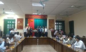 Đoàn công tác HND TP Hồ Chí Minh thăm quan học tập kinh nghiệm tại Hưng Yên.