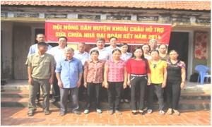Công tác phát triển quỹ chi hội và các hoạt động nghĩa tình ở huyện Khoái Châu