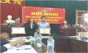 Kim Động: Tổng kết công tác Hội và phong trào nông dân năm 2016.