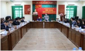 Ban Chỉ đạo thực hiện đề án 61 tỉnh họp triển khai nhiệm vụ năm 2017