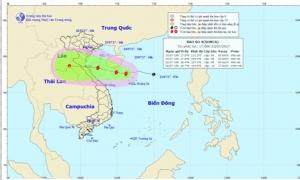 Bão số 4 di chuyển chậm, các tỉnh từ Thanh Hóa đến Thừa Thiên Huế có nơi mưa rất to