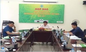 """Công bố 150 """"Thương hiệu vàng nông nghiệp"""" Việt Nam năm 2017"""