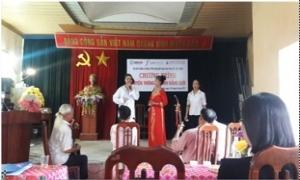 Nhật Quang tổ chức hội nghị truyền thông về bình đẳng giới và quyền của phụ nữ trong tiếp cận đất đai và tài sản gắn liền với đất