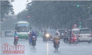 Thời tiết dịp nghỉ lễ 2/9: Hầu hết các tỉnh đều có mưa