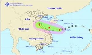 Thông báo khẩn về việc ứng phó áp thấp nhiệt đới gần bờ