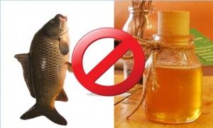 5 thực phẩm không được kết hợp với mật ong