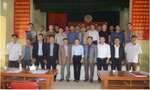 Ra mắt Tổ hội nghề mộc xã Hòa Phong năm 2017