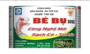 Thuốc trừ cỏ công nghệ mới BÉBỤ 30SE cho lúa Đông Xuân