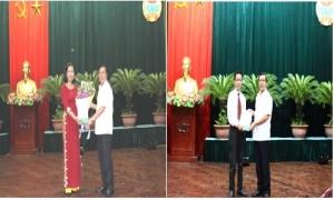 TƯ Hội NDVN trao quyết định bổ nhiệm cho hai lãnh đạo cấp vụ