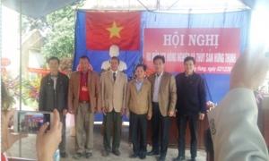 Xã  Quang Hưng huyện Phù Cừ- Thành lập Hợp tác xã Nông nghiệp và Thủy sản Hưng Thịnh