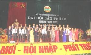 Hội Nông dân thành phố Hưng Yên: Đoàn kết - đổi mới - hội nhập - phát triển bền vững.