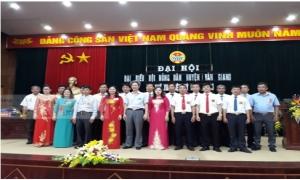 Đại hội đại biểu Hội Nông dân huyện Văn Giang lần thứ XIII, nhiệm kỳ 2018 - 2023.
