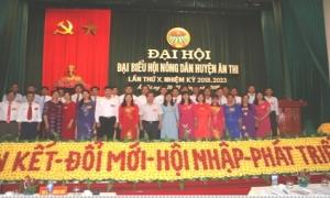 Đại hội đại biểu Hội Nông dân huyện Ân Thi lần thứ X, nhiệm kỳ 2018 - 2023.