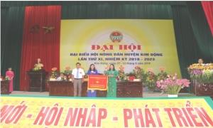 Đại hội đại biểu Hội Nông dân huyện Kim Động lần thứ XI, nhiệm kỳ 2018 - 2023.