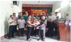 Hội nghị ra mắt Chi Hội trồng cam vinh thôn Thanh Đặng