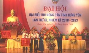 Đại hội đại biểu Hội Nông dân tỉnh Hưng Yên lần thứ IX, nhiệm kỳ 2018 – 2023 thành công tốt đẹp.