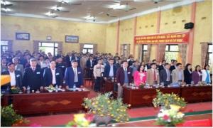 Đại hội đại biểu Hội Nông dân xã Liên Nghĩa lần thứ X, nhiệm kỳ 2018 - 2023