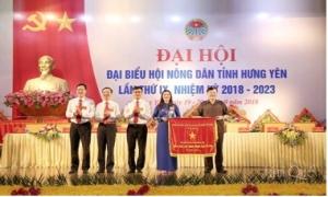 Hội Nông dân tỉnh Hưng Yên sau 5 năm thực hiện Nghị quyết Đại Hội đại biểu Hội Nông dân tỉnh lần thứ VIII nhiệm kỳ 2013 - 2018.