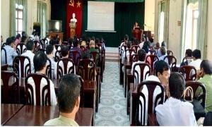 HND huyện Khoái Châu: Tập huấn nghiệp vụ công tác Hội