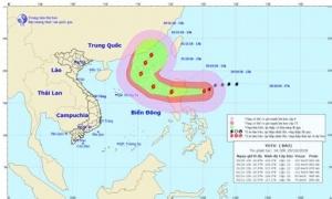 Tối 30/10, bão Yutu có thể gây nguy hiểm trên biển Đông