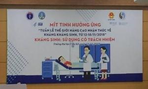 Người Việt hủy hoại tính mạng bằng thói quen tự mua kháng sinh về uống