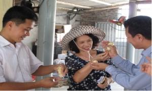 Duy trì phát triển chăm nuôi gà ở Đông Tảo