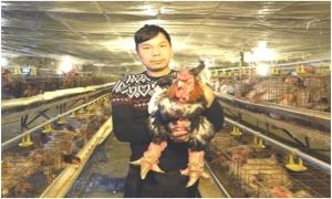 Chàng trai Hưng Yên nuôi gà Đông Tảo nhận giải thưởng Lương Định Của