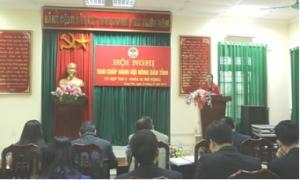 Năm 2018: Các cấp Hội Nông dân tỉnh Hưng Yên tư vấn hướng dẫn thành lập 19 hợp tác xã kiểu mới
