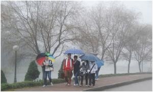 Bắc Bộ ngày có mưa vài nơi, nhiệt độ tăng nhẹ, trời rét
