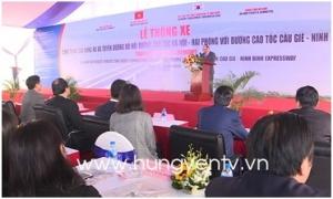Thủ tướng Nguyễn Xuân Phúc dự lễ thông xe cầu Hưng Hà, đường nối 2 cao tốc và làm việc với tỉnh Hưng Yên