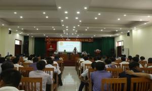 (Website HNDHY) - Hưng Yên: Hội thảo chia sẻ kinh nghiệm thành lập chi hội nghề nghiệp, tổ hội nghề nghiệp và tổng kết 3 năm thực hiện Đề án 24 của Trung ương Hội Nông dân Việt Nam