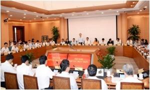 Tỉnh Hưng Yên và thành phố Hà Nội họp bàn hợp tác, phát triển