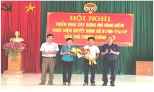 """Ra mắt câu lạc bộ """"Nông dân với pháp luật"""" và tập huấn pháp luật cho cán bộ, hội viên nông dân xã Hòa Phong"""