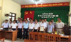 Lễ ra mắt hợp tác xã cây ăn quả xã Minh Châu