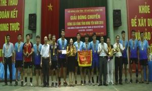 """Giải bóng chuyền """"Bông lúa vàng"""" tỉnh Hưng Yên năm 2019"""