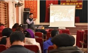 Hội thảo kỹ thuật trồng, chăm sóc phát triển cây vải trứng HY