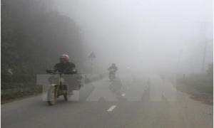 Bắc bộ có mưa phùn và sương mù
