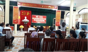 Hội nông dân huyện Yên Mỹ tổ chức hội nghị triển khai mô hình và tập huấn  Kỹ thuật trồng và chăm sóc Bưởi Đường Đào