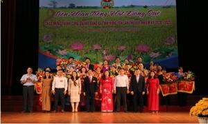 Liên hoan Tiếng hát đồng quê chào mừng thành công Đại hội Đảng bộ tỉnh lần thứ XIX, nhiệm kỳ 2020-2025