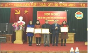 HND huyện Văn Lâm: Hội nghị tổng kết công tác Hội và phong trào nông dân năm 2017 đề ra phương hướng nhiệm vụ năm 2018
