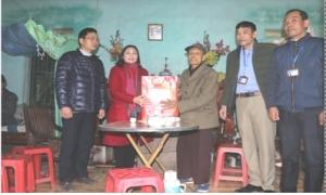 Chăm lo tết cho hội viên nông dân nghèo